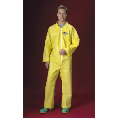 Chemmax 1 Coveralls Standard Suit w/ Zipper Front   pic 3