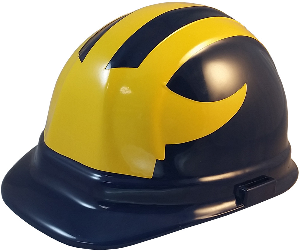 91471d07 Michigan Wolverines hard hats