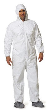 Promax Coveralls w/ Hood, Boots, Elastic Wrists, Ankles   pic 3