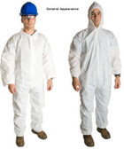 Promax SMS Coveralls w/ Hood, Boots, & Elastic Wrists   pic 2