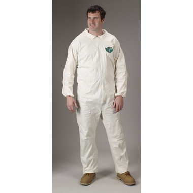 Pyrolon Plus II SMS Coveralls w/ Elastic Wrists, Ankles   pic 2