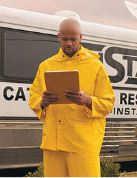 MCR Classic FR 35 Mil 3 piece Rain Suits   pic 2