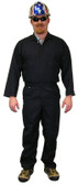 Indura Cotton Navy Blue Flame Resistant Coveralls  pic 1