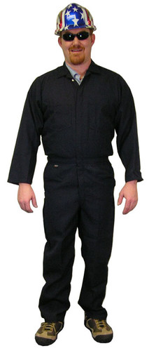 Nomex IIIA Navy Blue Flame Resistant Coveralls  pic 1