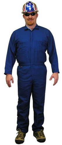 Nomex IIIA Royal Blue Flame Resistant Coveralls  pic 1