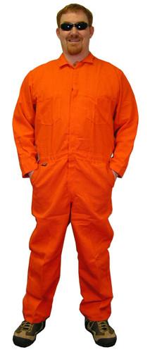 Nomex IIIA Orange Flame Resistant Coveralls  pic 1