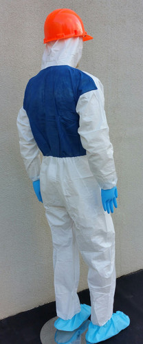 Suntech Cool Coveralls w/ Breathable Back Panel, Hood  pic 3