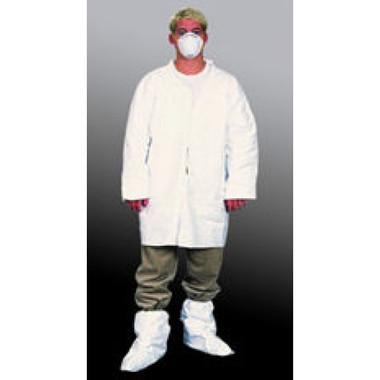 Polypropylene Lab Coats Elastic Wrists, No Pocket   pic 1
