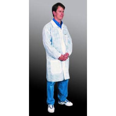 Polypropylene Lab Coats 3 Pocket and Elastic Wrists   pic 1