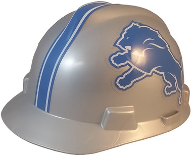 Detroit Lions Hard Hats - Oblique View