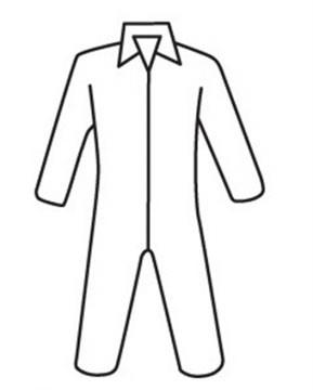 Posiwear Standard Coveralls w/ Zipper Collar   pic 1