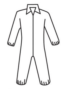 Posiwear Coveralls w/ Elastic Wrists, Ankles   pic 1