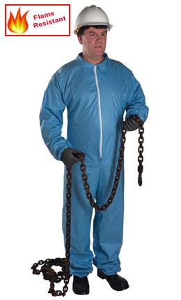 Posiwear FR Flame Resistant Standard Coveralls w/ Zipper  pic 2