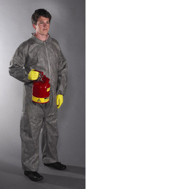 Posiwear 3 Coveralls GRAY w/ Elastic Wrists, Ankles   pic 1