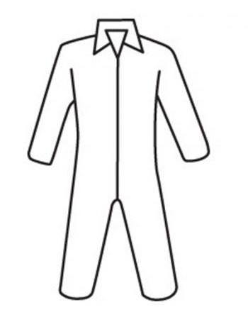 Posiwear 3 Standard Coveralls w/ Zipper Collar   pic 1