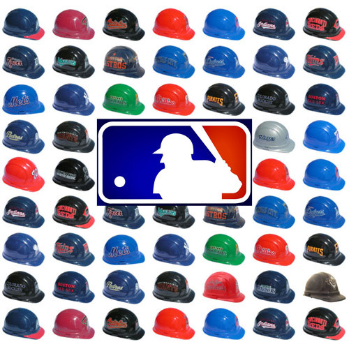 6c5b5acd All MLB Baseball Team Hard Hats with Ratchet Suspensions | Buy ...