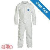DuPont TYVEK Nonwoven Fiber Coveralls Standard Suit With Zipper Front (25 per case) ~ Size 3X