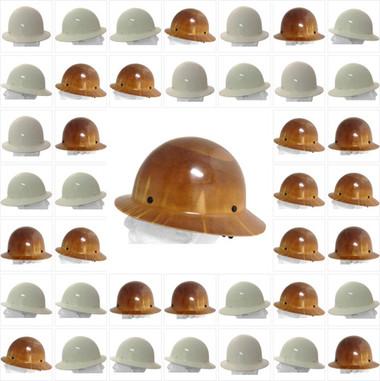 MSA Skullgard Full Brim Hard Hats