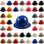 MSA Skullgard Full Brim Hard Hat with Staz On Suspension