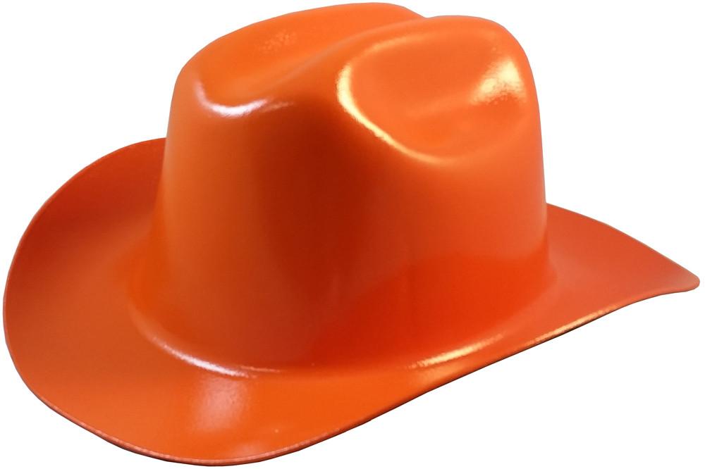 Cowboy Style Hard Hat Wide Brim Black Cotton Ratchet Suspension