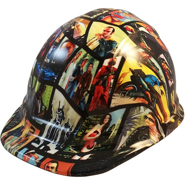 Grand Theft Auto Hydro Dipped Hard Hats ~ Oblique View