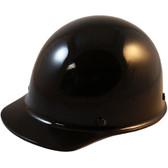 Skullgard Cap Style With Ratchet Suspension Black ~ Oblique View