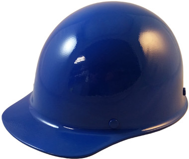 Skullgard Cap Style With Ratchet Suspension Blue - Oblique View