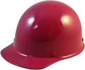 Skullgard Cap Style With Ratchet Suspension Raspberry - Oblique View