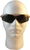 Jackson Nemesis Camouflage Pattern with Polarized Smoke Lens ~ Front View