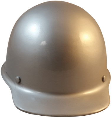 Skullgard Cap Style With STAZ ONSuspension Silver  - Front View