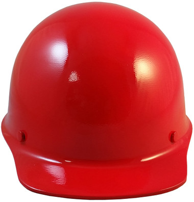 MSA Skullgard Cap Style With STAZ ON Suspension Red  - Front View