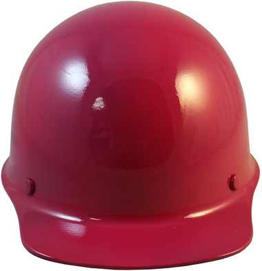 MSA Skullgard Cap Style With STAZ ON Suspension Raspberry - Front View