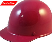 MSA Skullgard (LARGE SHELL) Cap Style Hard Hats with Ratchet Suspension - Raspberry