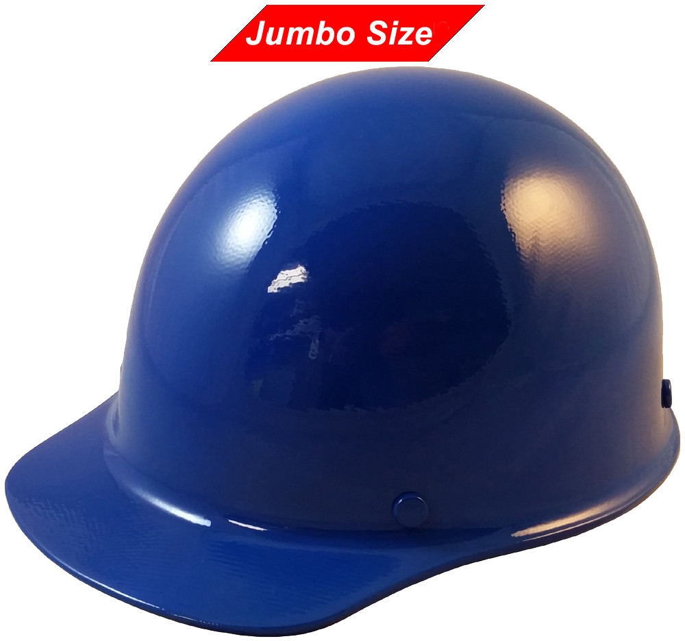 ab65d9c01903 MSA Skullgard (LARGE SHELL) Cap Style Hard Hats with Ratchet Suspension -  Blue -. Loading zoom