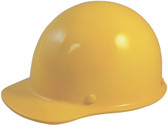 Skullgard Cap Style With Ratchet Suspension Yellow - Oblique View