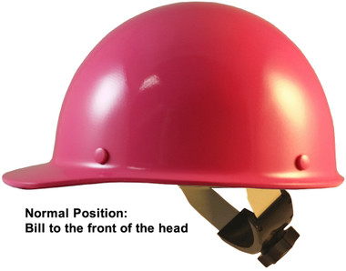 Skullgard Cap Style With Swing Suspension Hot Pink - Swing Suspension in Normal Position