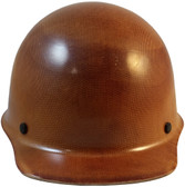 Skullgard Cap Style With Fas-Trac Suspension - Natural Tan - Front View
