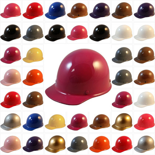 9c0c1cfcf7ed MSA Skullgard Cap Style Hard Hats - Ratchet Suspensions ((Custom Colors)