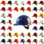 MSA Skullgard Cap Style Hard Hats - Swing Suspensions