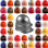 MSA Skullgard Jumbo Size - Cap Style Hard Hats - Staz On Suspensions (Custom Colors)