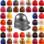 MSA Skullgard Jumbo Size - Cap Style Hard Hats - Staz On Suspensions (Custom Colors)