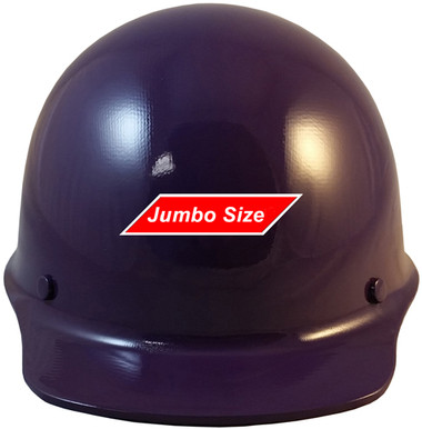 MSA Skullgard (LARGE SHELL) Cap Style Hard Hats with STAZ ON Suspension - Purple - Front View