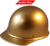 MSA Skullgard (LARGE SHELL) Cap Style Hard Hats with Ratchet Suspension - Gold - Oblique View