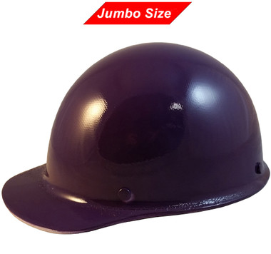 MSA Skullgard (LARGE SHELL) Cap Style Hard Hats with Ratchet Suspension - Purple - Oblique View