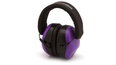 Pyramex Purple Safety Earmuffs NRR26