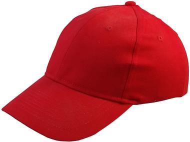 ERB Soft Bump Cap (Cap and Insert) - Red - Oblique View