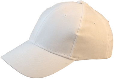 ERB Soft Bump Cap (Cap and Insert) - White - Oblique View