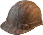 Pyramex Ridgeline Cap Style Hard Hat with Camouflage Pattern - Oblique View