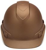 Pyramex Ridgeline Cap Style Hard Hat with Coper Graphite Pattern Front