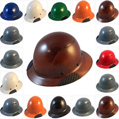 DAX Fiberglass Composite Full Brim Hard Hats